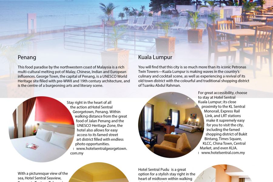 Hotel Sentral Georgetown Penang Lonely Planet Globetrotter