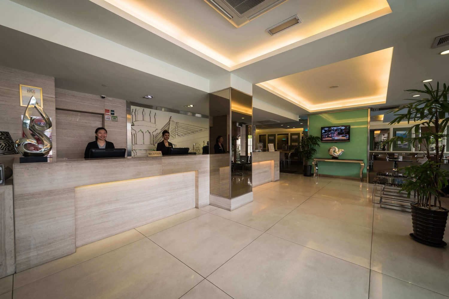 Hotel Sentral Georgetown Penang Reception