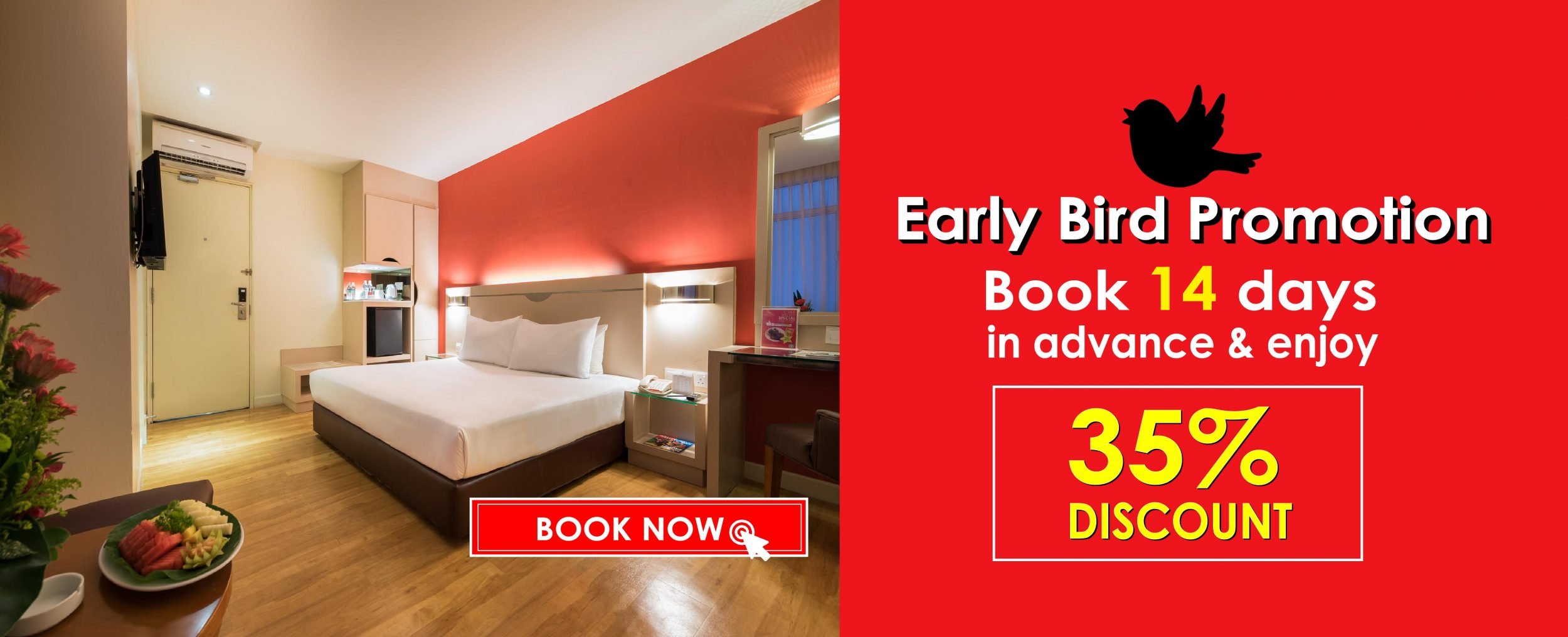 Hotel Sentral Georgetown Penang Early Bird Promotion