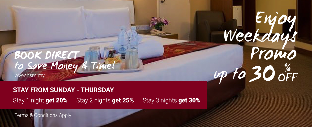 Hotel Sentral Georgetown Penang Weekdays Promotion